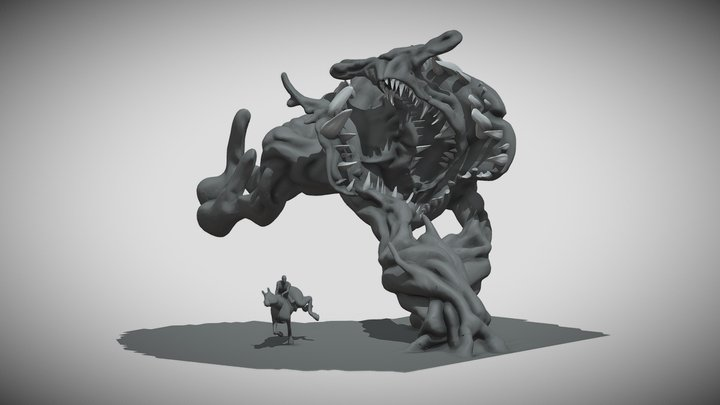It came from nature sculpt 3D Model