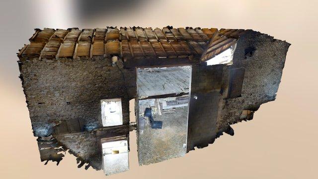 Numérisation 3D d'une grange à réhabiliter 3D Model