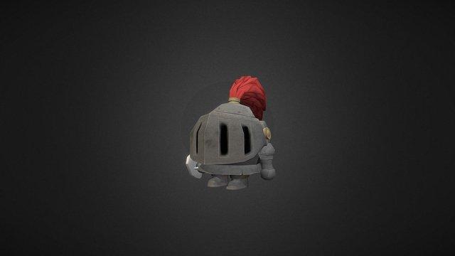 Stylized Warrior 3D Model