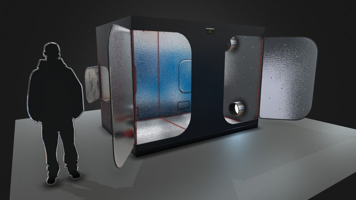 300x200x225 e 3D Model