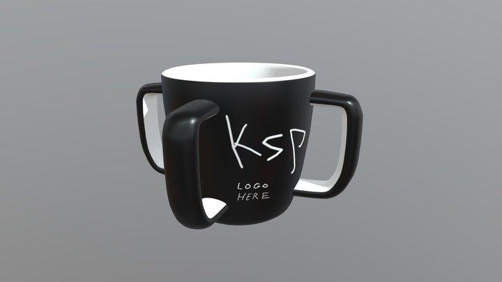 "Kerbal Space Program Mug ""Untitled coffee mug"" 3D Model"