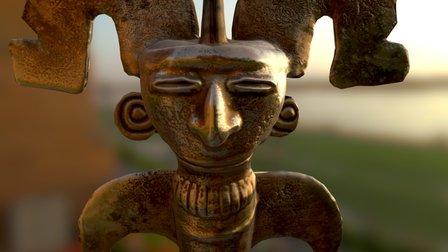 Oro Precolombino 3D Model