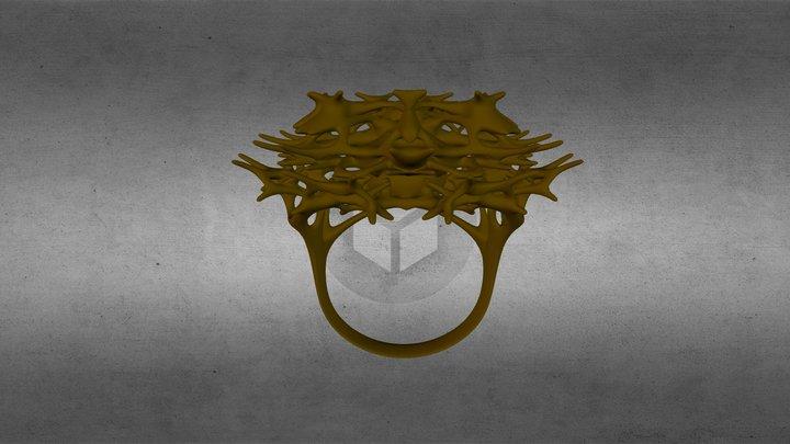 Cardon Silver Gold 3D Model