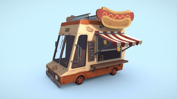 Food truck 3D Model