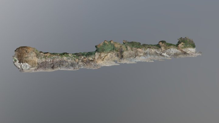 Mothecombe Cliff Erosion Monitoring 3D Model