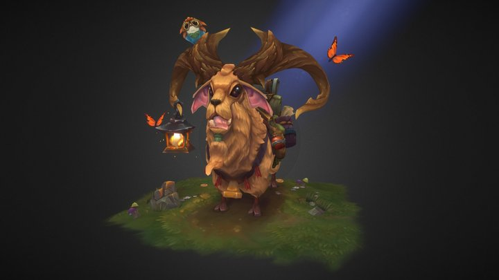The Goaty- your best friend 3D Model