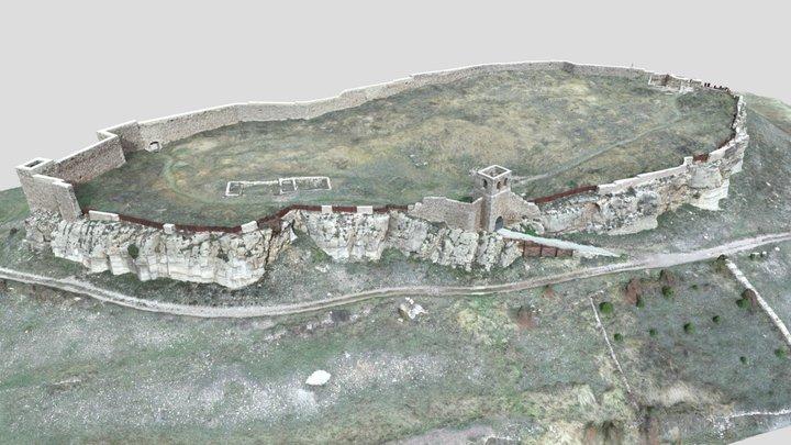 Castillo de Cedrillas 3D Model