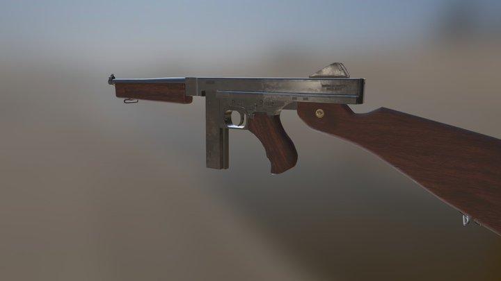 Thompson Smg 3D Model