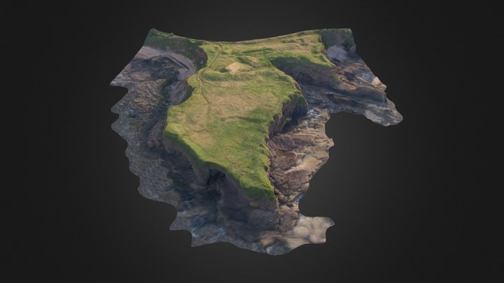 Eyemouth Fort 3D Model