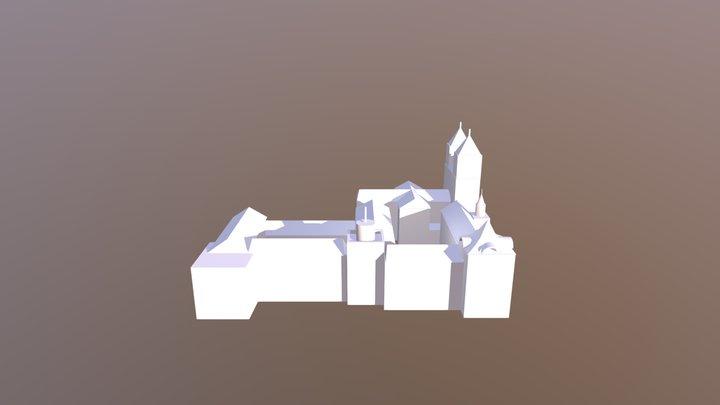 Mosteiro De Sao Bento 3D Model