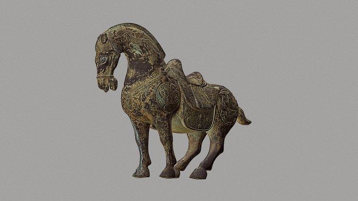 Bronze Horse 3D Model