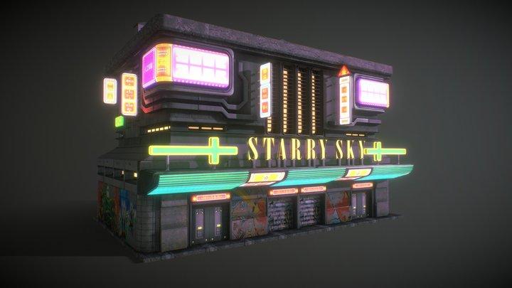 Building 6 3D Model