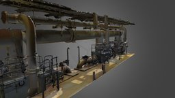Pipe Gallery_Part 1 of 2 3D Model