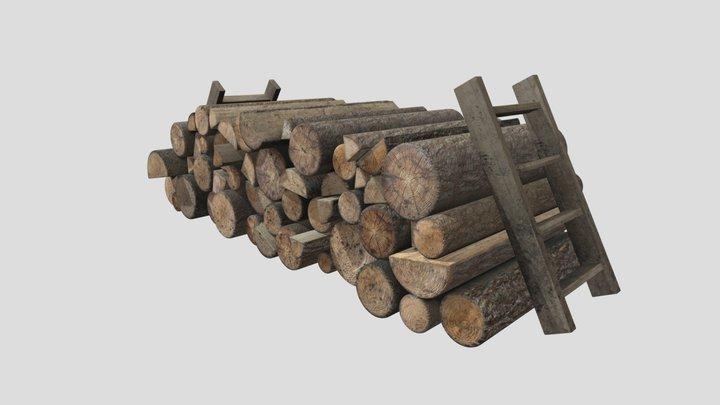 Firewood_HP 3D Model