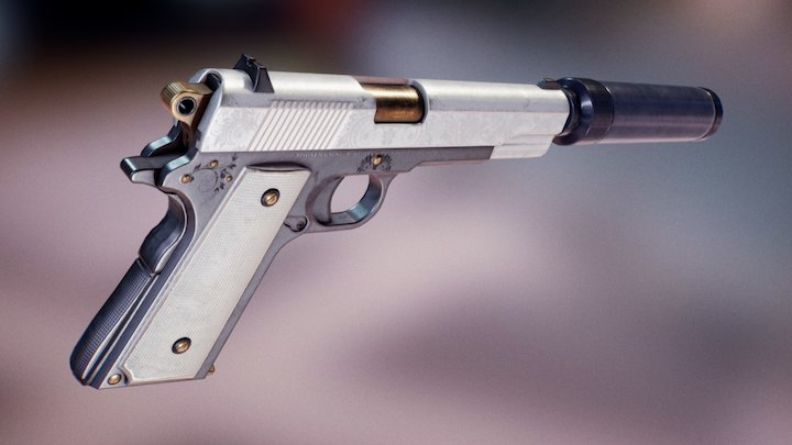 Colt M1911A1 3D Model