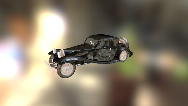 Wip Bugatti 50T Update 3D Model