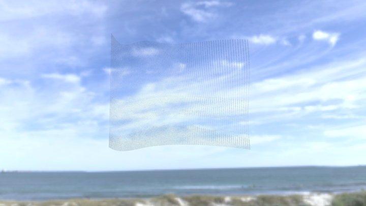 Twisted Seascape (Leighton beach), 2020 3D Model