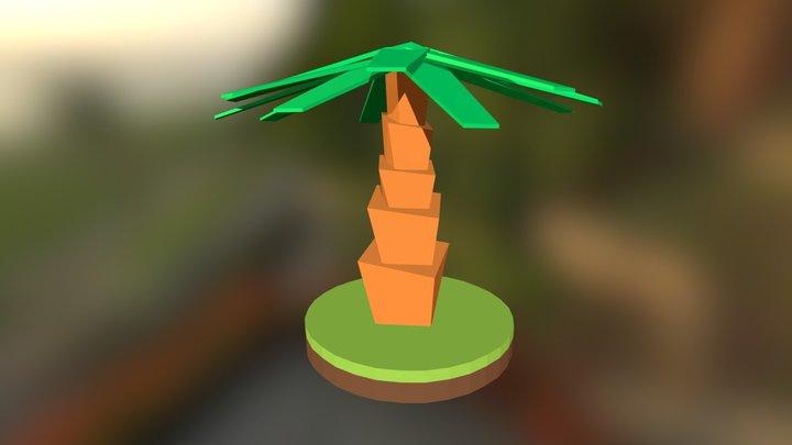 Tree Low Poly #04 3D Model