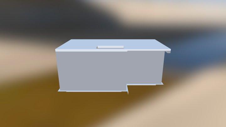 Support Sujet TD - Dessins Coffrage 3D Model