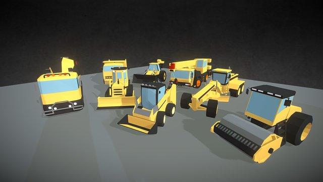 SmallCars - Construction 3D Model