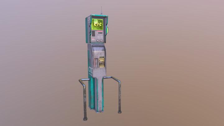 CTC module 3D Model