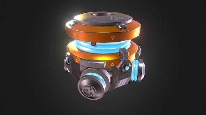 Gravity Generator 3D Model