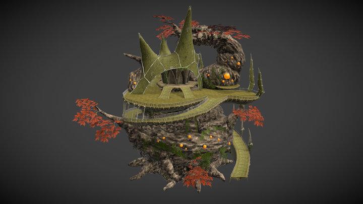 The Wyrd Hut 3D Model
