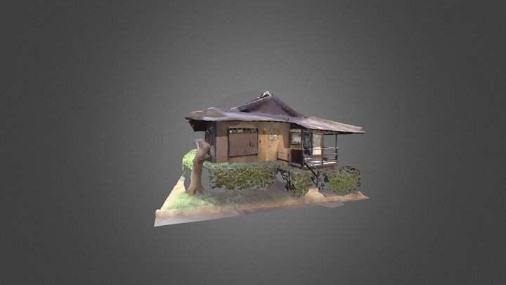 Honolulu Museum Tea House 3D Model