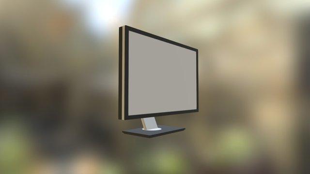 Monitor Dell 2311 3D Model
