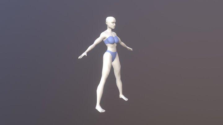 Heroine Base 3D Model