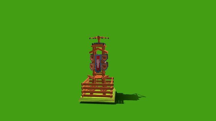 Tower Defense asset 3D Model