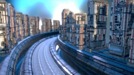 Derelict Structures 3D Model