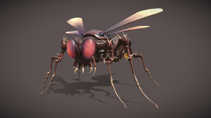 """Thornmite"" - Giant Insect Project 3D Model"