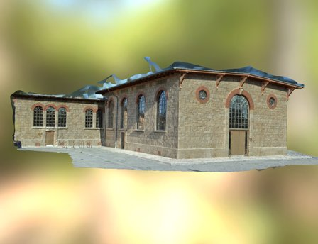 Schlachthof Weimar - Multicopter 3D Scan - 2.0 3D Model