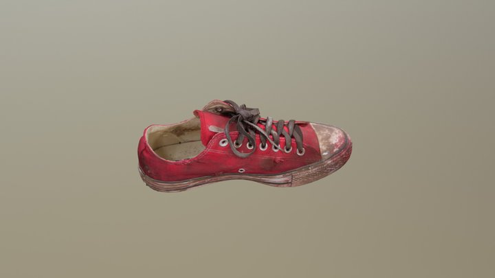 Apocalypse Shoe Left 3D Model