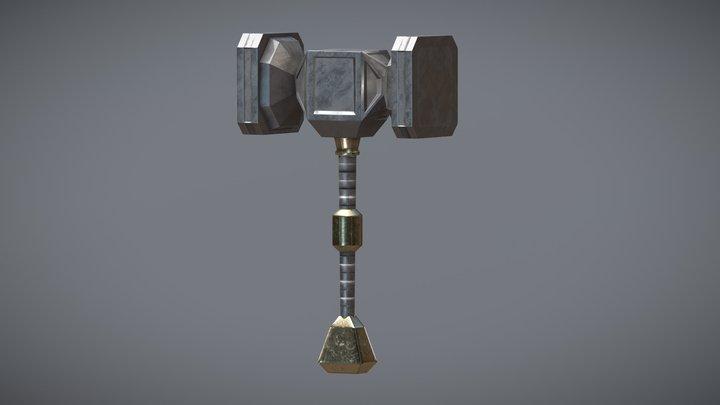 LP Hammer 3D Model