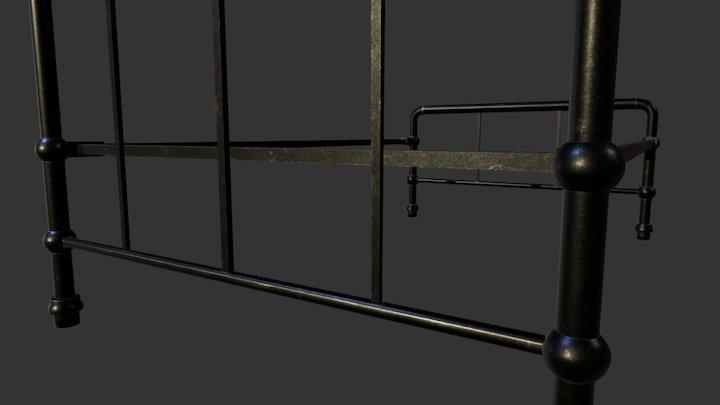 Rusty Bed 3D Model