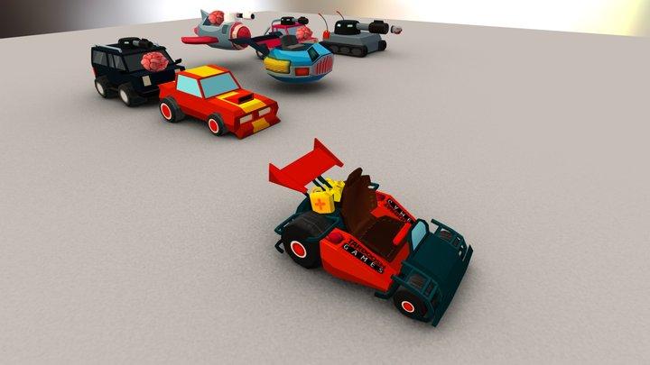 CAR MODEL 3D Model