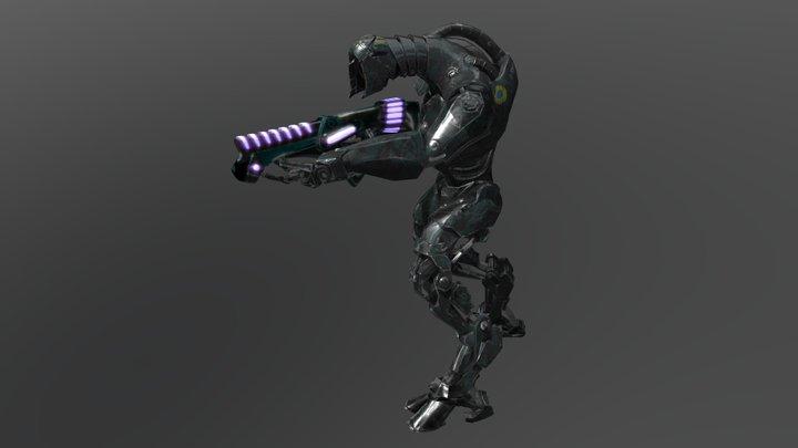 StormTrooper 3D Model