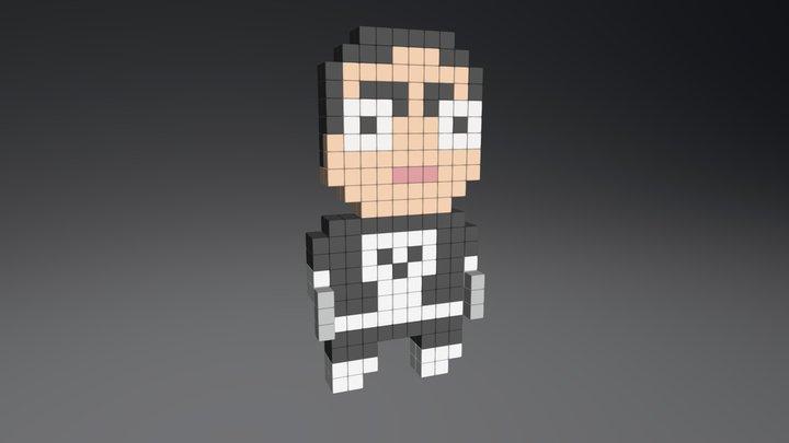 Punisher 3D Model