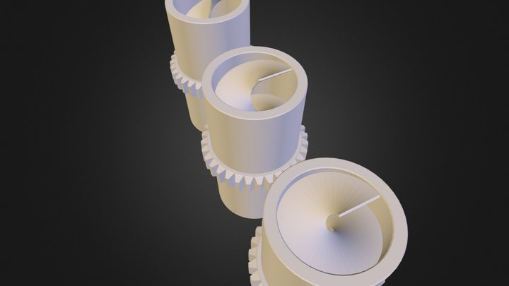 TurbineMock.obj 3D Model
