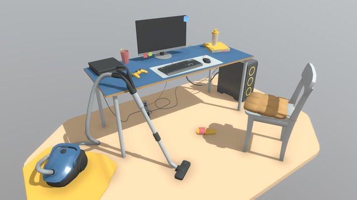 XYZ homework 01 3D Model