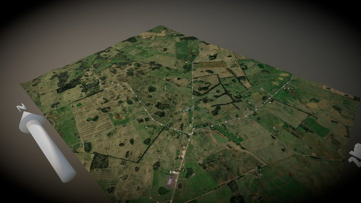 Karst Topography: Kentucky Sinkholes 3D Model