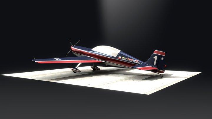 Extra 300L  Halcones 2 3D Model