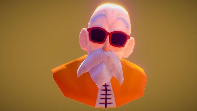 Master Roshi (Kame) 3D Model