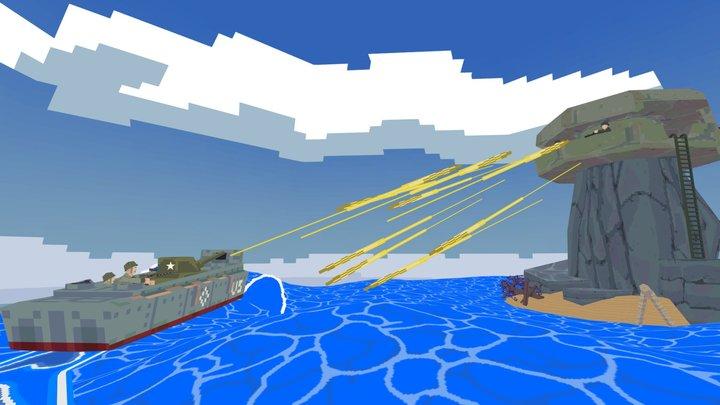 VGRemix - WW2  Wind Waker Shooter 3D Model