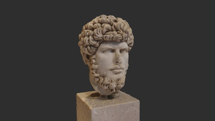 Bust of Lucius Verus 3D Model