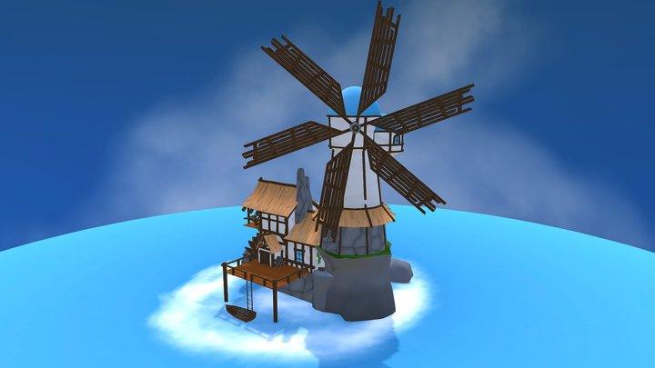 Seafarer's Paradise - WWBar - Thomas De Neef 3D Model