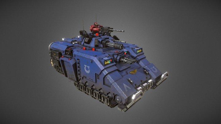 Repulsor 3D Model