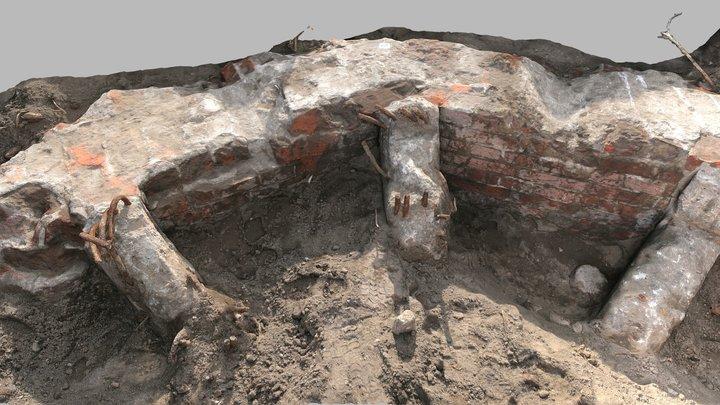 War ruins 3D Model